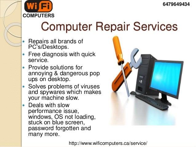 laptop repairing service