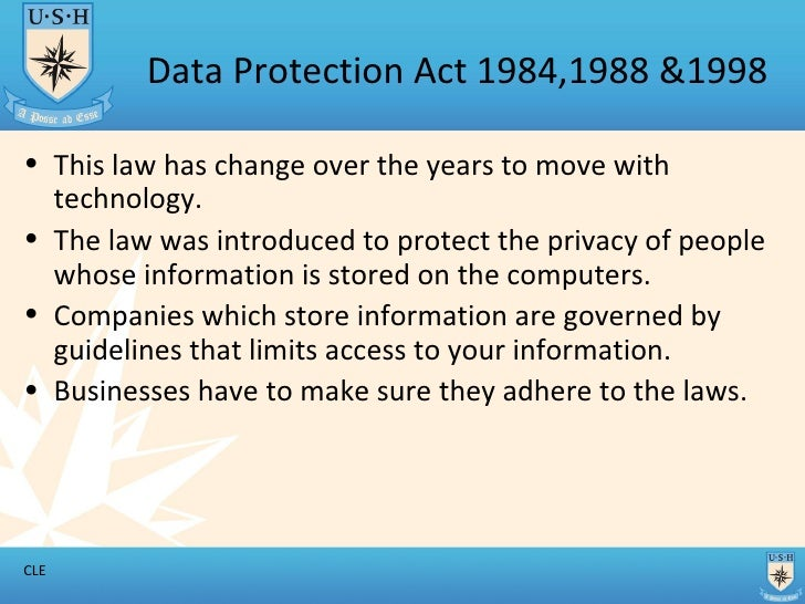 how to protect the information stored on a computer