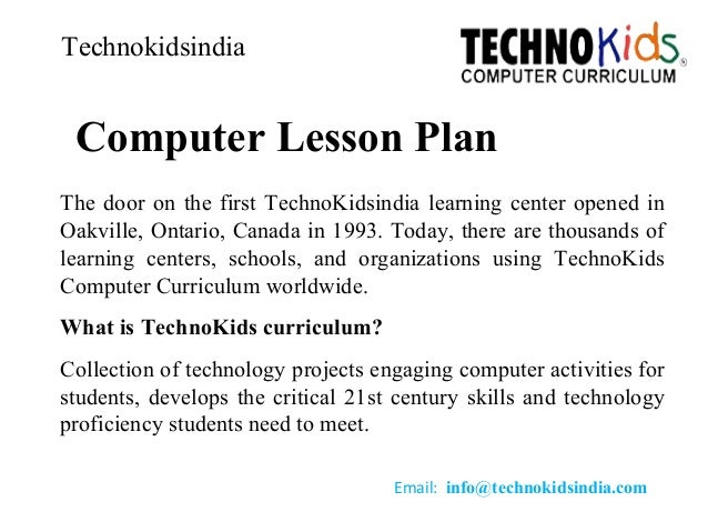 Computer lesson plan,computer institution,computer learning center,le…