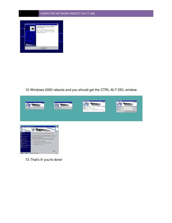 Computer network Report