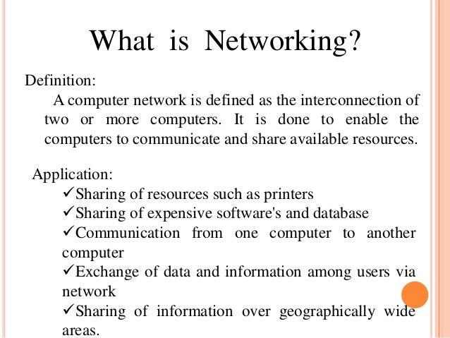 What is network magic used for