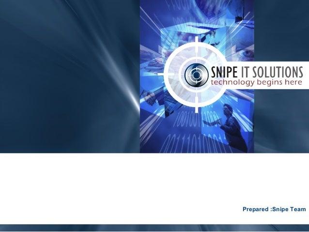 June 21, 2017 www.snipe.co.in 1 Prepared :Snipe Team