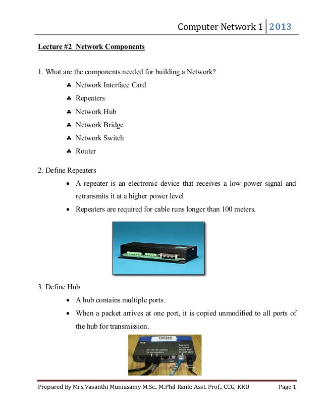 Computer Network Pdf Course Material 2013