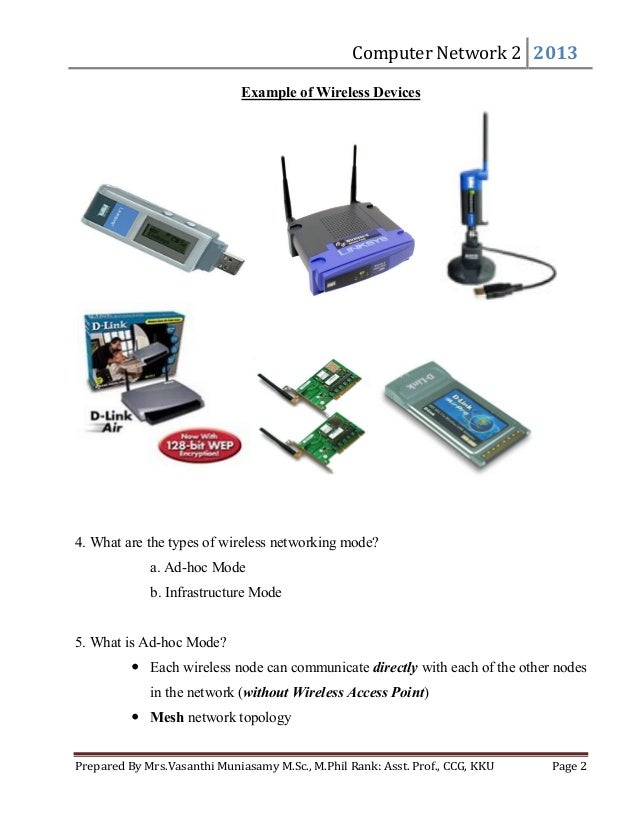 wireless networking essay