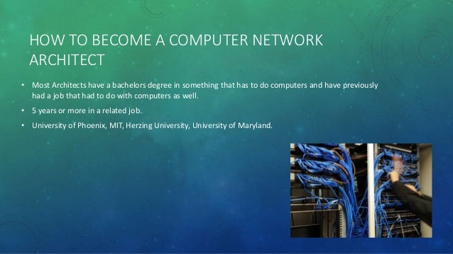 3. HOW TO BECOME A COMPUTER NETWORK ARCHITECT ...