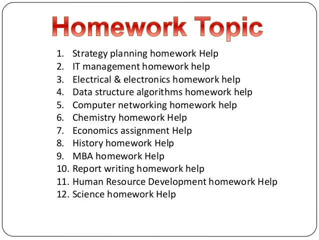 5Homework – your chemistry homework helper