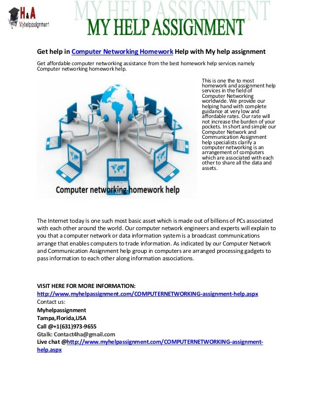 Computer networking assignment help