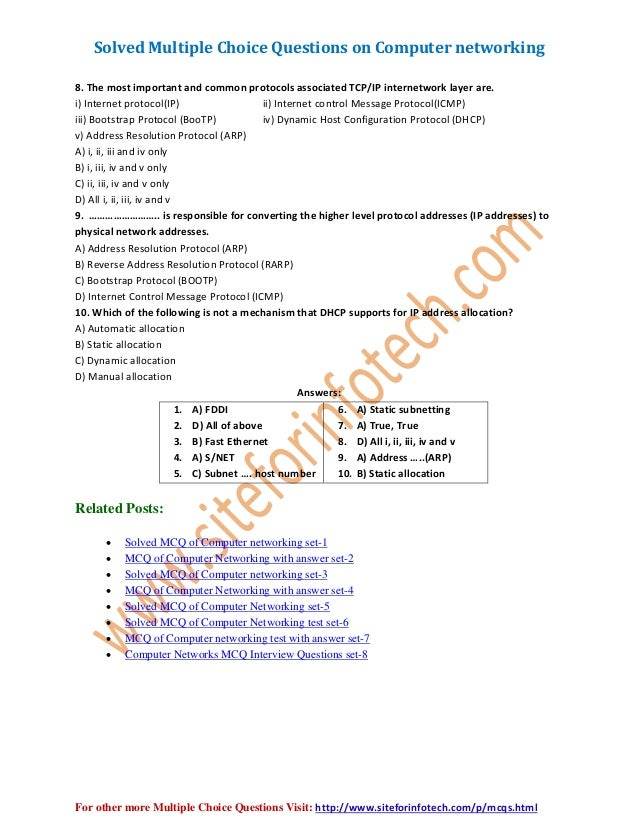 computer mcq New mcq questions with answer on the category of fundamentals of computer in this mcq set you will get 10 objective questions with answer related to computer.