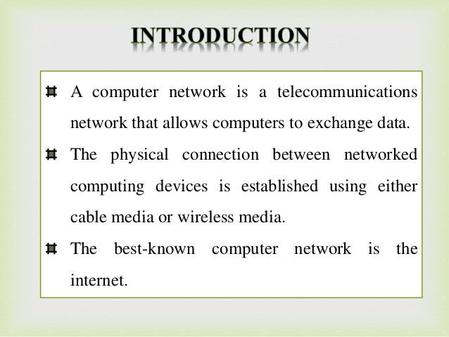 Computer Networks - PPT