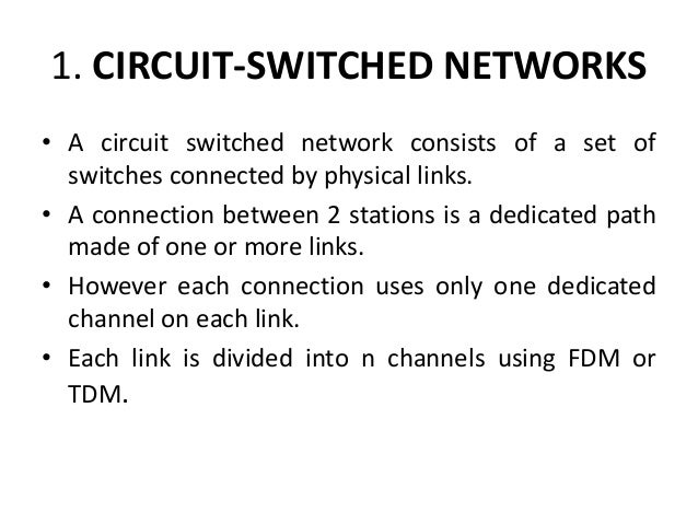Computer network switching