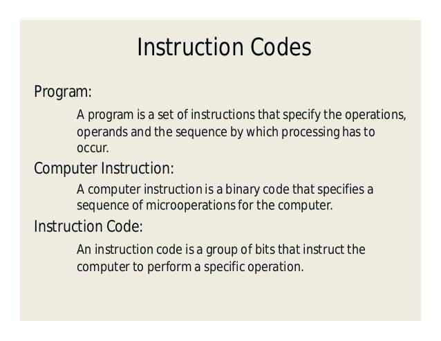 Basic Computer Organization And Design