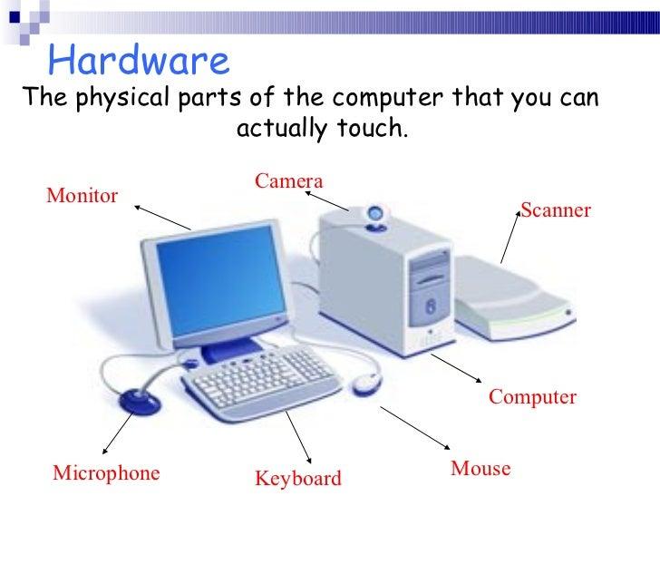 Computer parts.