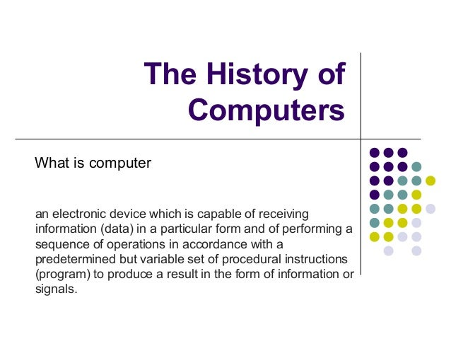 computers from the past to the present Japanese translation and the computer the past, the present and the future jim breen june 20, 2007 jim breen japanese translation and the computer.