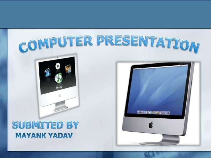 computer presentation Find the computer powerpoint templates, network ppt presentation, presentation slides on computer network, and cloud server & computer.