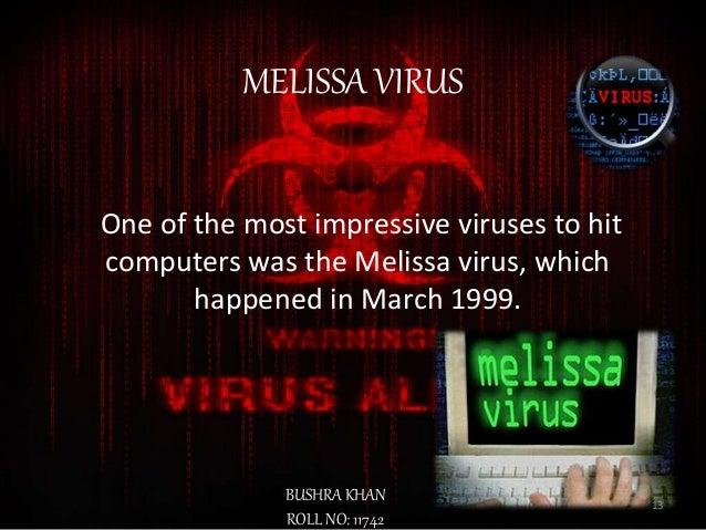 informative speech on computer viruses