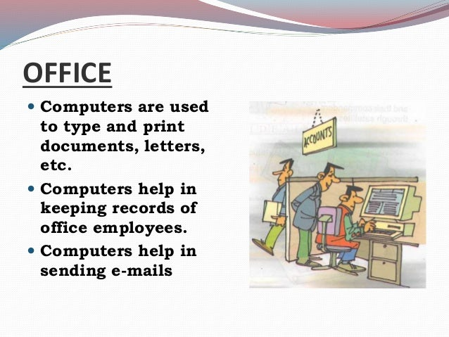 uses of computer in offices pdf