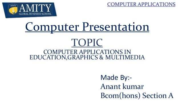 brief essay on computer application in education Computers have become so common that almost every home has at least one computer, and schools find them a good source for information and education for their students (hafner, katie, unknown) computers have created new careers and eliminated others and have left a huge impact on our society.