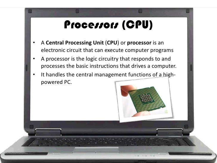 What is a computer processor?