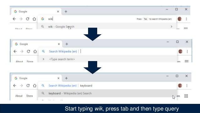 Win key opens search interface