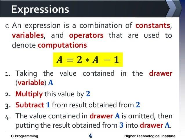 Computer programming chapter ( 3 )