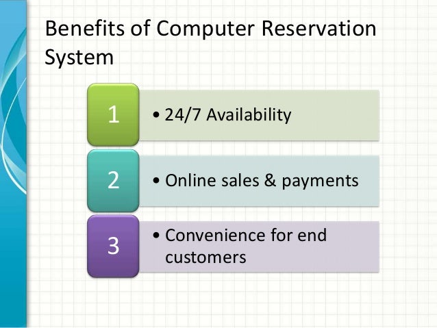 Web Reservation System For Travel Agencies