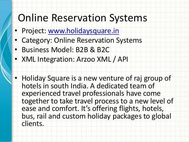 introduction to hotel reservation system