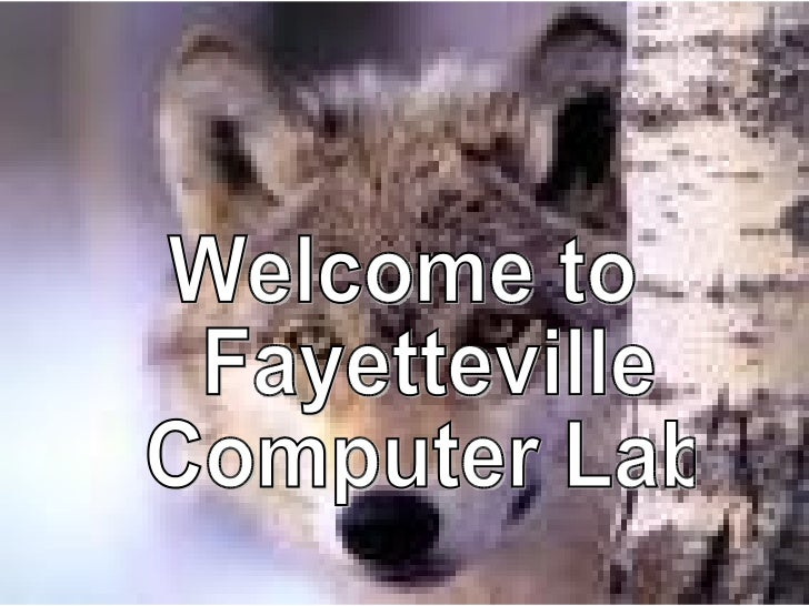 Welcome to Fayetteville Computer Lab
