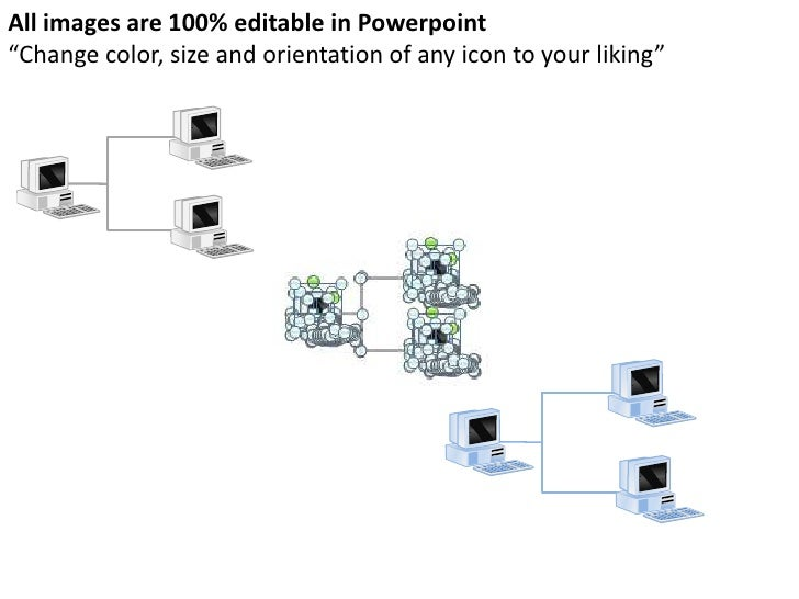 computers and network powerpoint presentation templates