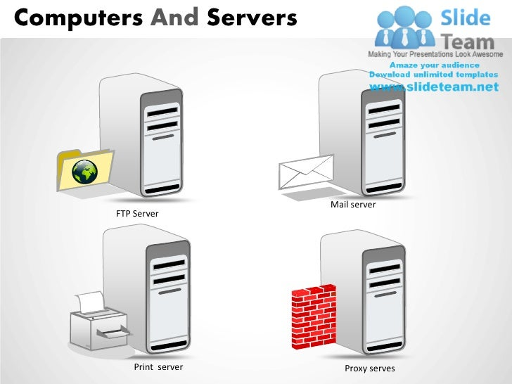 Computers And Servers Powerpoint Presentation Slides Ppt Templates