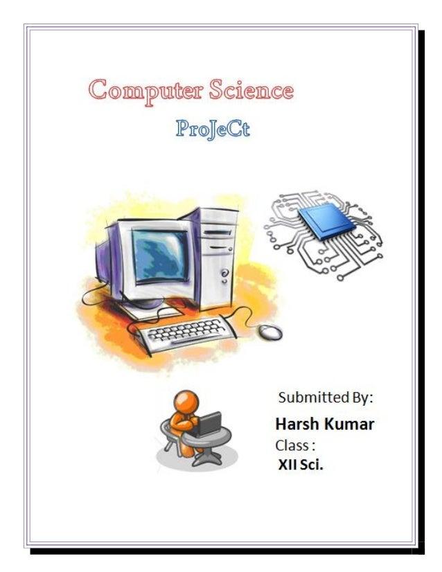 computer science class 12 project on super market billingProject Computer #9