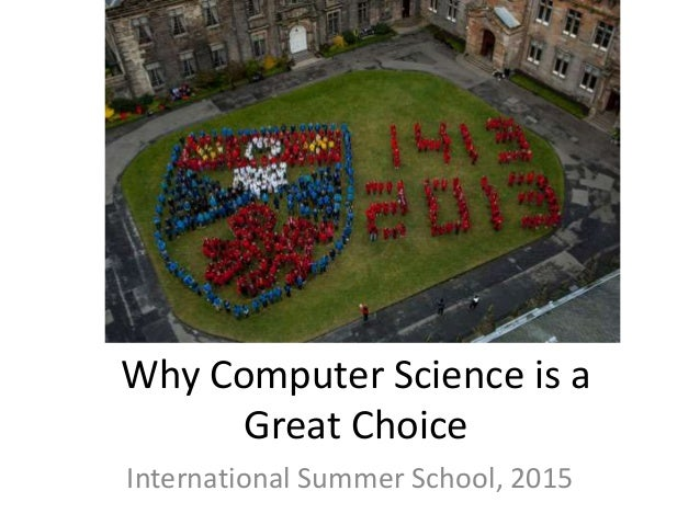Why Computer Science is a Great Choice Slide 3