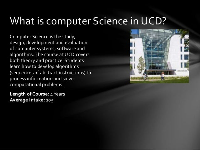 algorithmic problem solving ucd