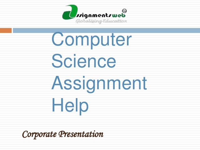 Assistance for your computer science project includes: