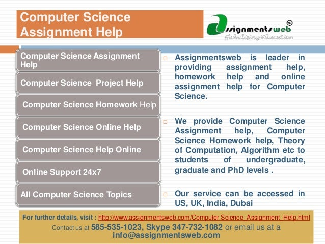 computer science assignment help computer science homework help as  computer science assignment help corporate presentation 2