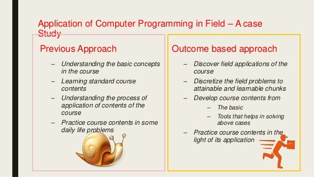 Computer Science Curriculum Based On Program Learning