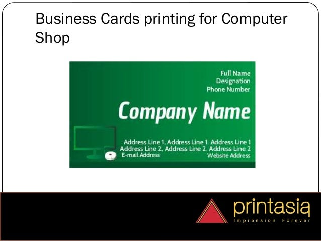 Computer shops welcome for visiting cards printasia business cards printing for computer shop colourmoves