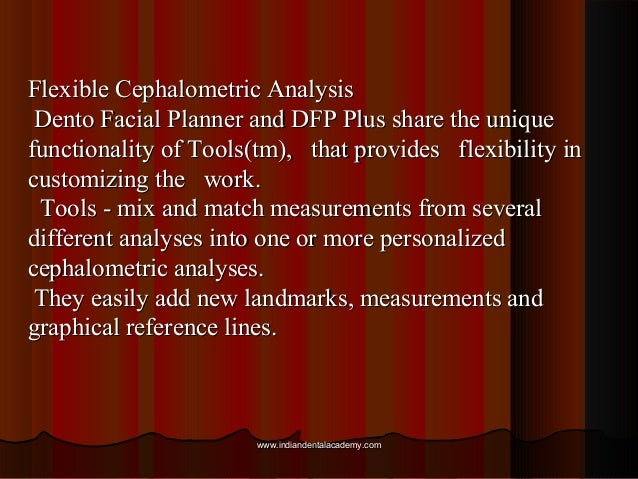 cephalometric tracing software.free  movies