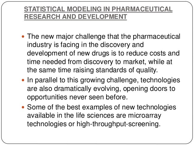  . On the other side, many models of a different type are currently used in the biological sciences:  Using empirical mo...