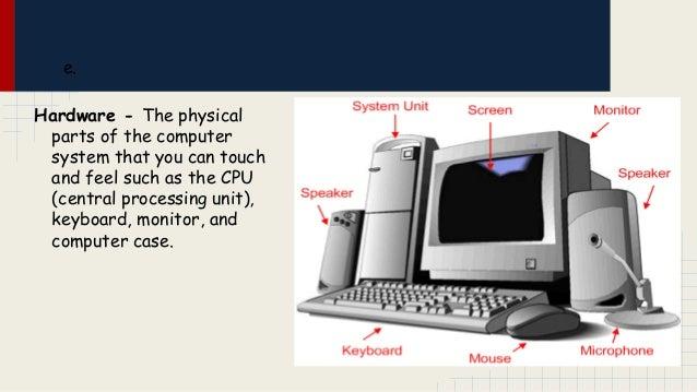 Computer skills vocabulary