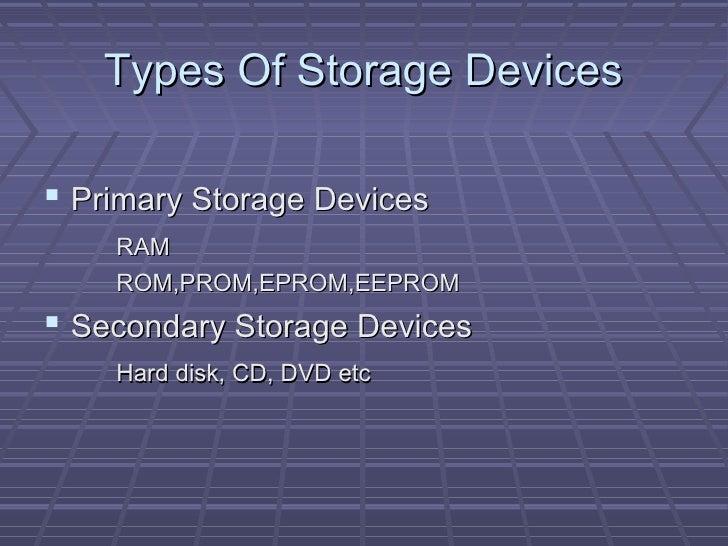 Storage Device Pdf