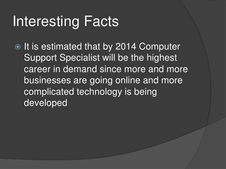 Computer Support Specialist Jobs >> Computer support specialist