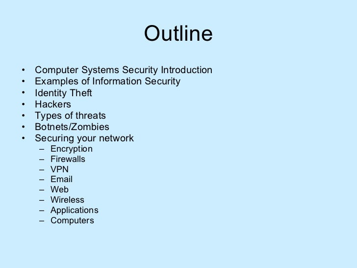 Computersystemssecurity 090529105555-phpapp01 Slide 2