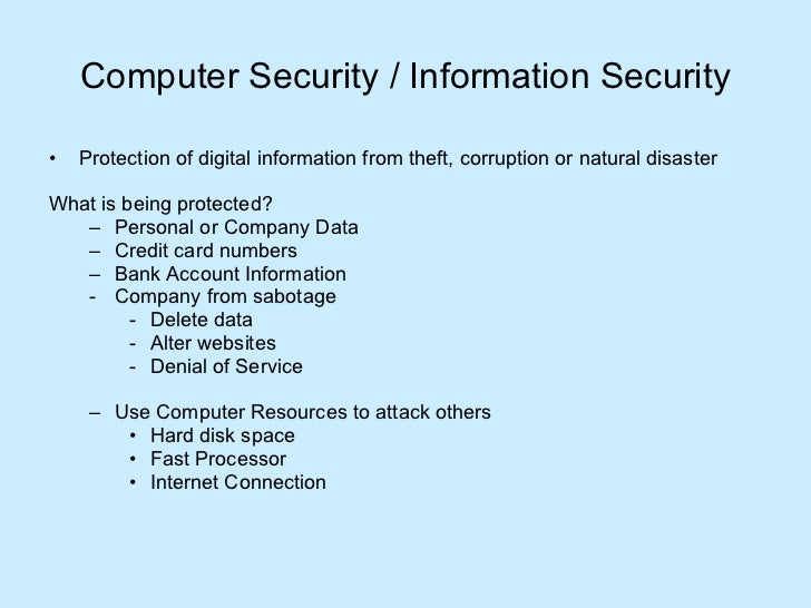 Computersystemssecurity 090529105555-phpapp01 Slide 3
