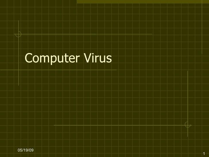 Computer Virus 06/10/09