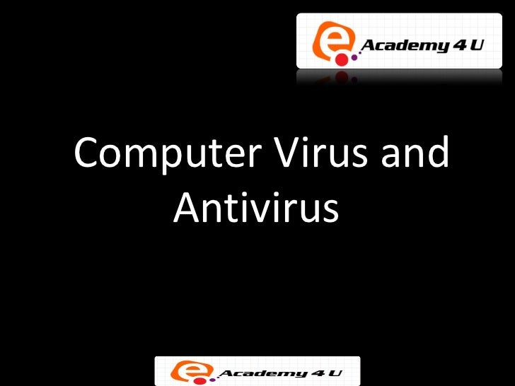 viruses and antiviruses essay