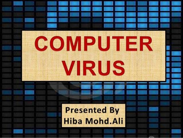 Tru Online Courses >> Computer viruses