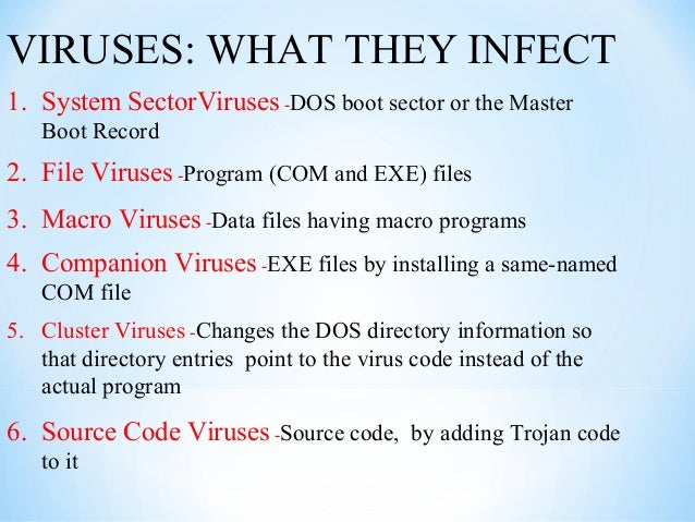 sources of computer virus Top ten most-destructive computer viruses created by underground crime syndicates and government agencies, these powerful viruses have done serious damage to computer.