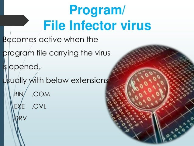 describing computer virus and how its affects a computer Computer security involves safeguarding computing resources, ensuring data  integrity,  theft or sabotage (of hardware and/or data or its media)  malware ( any form of virus, and including trojan e-mail attachments that.