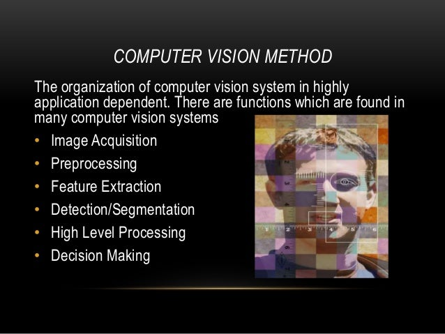 Computer Vision Artificial Intelligence