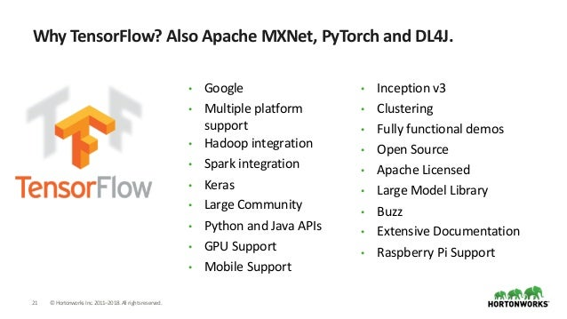 Open Computer Vision with OpenCV, Apache NiFi, TensorFlow, Python